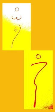 Piktogramm Frau / Mann